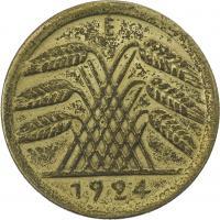 J.310 • 50 Rentenpfennig 1924 E