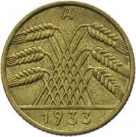 J.317 • 10 Reichspfennig 1933 A