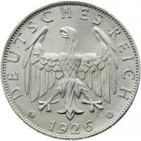 J.320 • 2 Reichsmark 1926 A