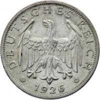 J.320 • 2 Reichsmark 1926 G