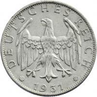 J.320 • 2 Reichsmark 1931 F