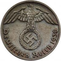 J.361 • 1 Reichspfennig 1936 E