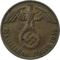 J.361 • 1 Reichspfennig 1936 G