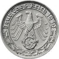 J.365 • 50 Reichspfennig 1938 A