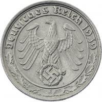 J.365 • 50 Reichspfennig 1939 E