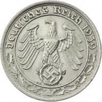 J.365 • 50 Reichspfennig 1939 F