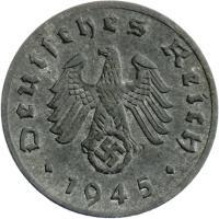 J.369 • 1 Reichspfennig 1945 E