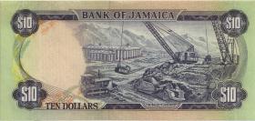 Jamaika / Jamaica P.59CS2 10 Dollars 1977 Specimen * Serie (1/1-)