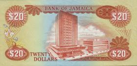 Jamaika / Jamaica P.68a 20 Dollars 1979 (1)