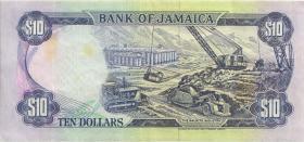 Jamaika / Jamaica P.71e 10 Dollars 1994 (3)