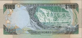 Jamaika / Jamaica P.75a 100 Dollars 1991 (1)