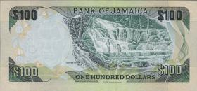 Jamaika / Jamaica P.95c 100 Dollars 2016 (1)