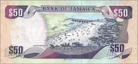 Jamaika / Jamaica P.neu 50 Dollars 2017 (1)