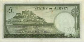 Jersey P.08b 1 Pound (1963) (2)