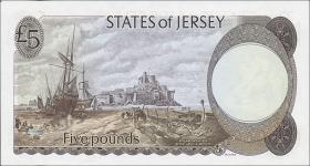 Jersey P.12a 5 Pounds (1976-88) (1)