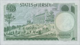 Jersey P.13b 10 Pounds (1976-88) (1)