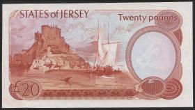 Jersey P.14b 20 Pounds (1976-88) (1)