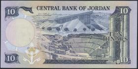 Jordanien / Jordan P.20c 10 Dinars (1975-92) (1)