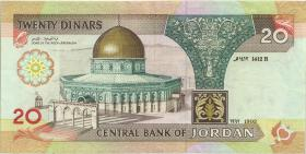 Jordanien / Jordan P.32a 20 Dinar 1995 (2)