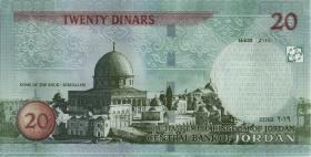 Jordanien / Jordan P.neu 20 Dinar 2019 (1)