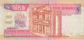 Jordanien / Jordan P.25a 5 Dinars (1992) (1)