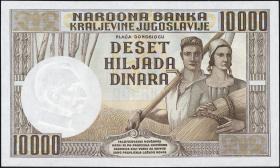 Jugoslawien / Yugoslavia P.034 10000 Dinara 1936 (1)