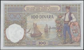 Jugoslawien / Yugoslavia P.022 100 Dinara 1920 (1)