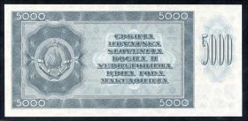 Jugoslawien / Yugoslavia P.067y 5000 Dinara 1950 (1)