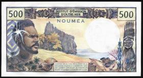 Neu Kaledonien / New Caledonia P.60e 500 Francs (1969-92) (1)