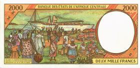 Kamerun / Cameroun P.203Eb 2000 Fr. 1994 (1)