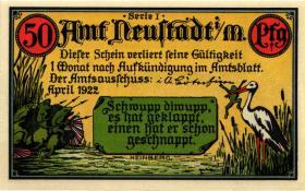 Notgeld Deutsche Kolonien 2 x 50 Pfennig + 2 x 75 Pfennig 1922 (1)