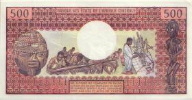 Kamerun / Cameroun P.15b 500 Francs (1974) (1-)