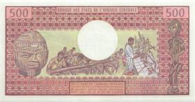 Kamerun / Cameroun P.15d 500 Francs 1983 (1)