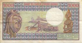 Kamerun / Cameroun P.16c 1000 Francs 1980 (3)