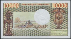 Kamerun / Cameroun P.18b 10000 Francs o.D. (1/1-)