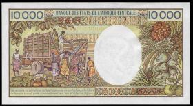 Kamerun / Cameroun P.23b 10.000 Francs (1990) (1)