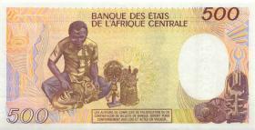 Kamerun / Cameroun P.24b 500 Francs 1990 (1)