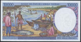Zentral-Afrikanische-Staaten / Central African States P.205Ea 10000 Francs o.D. (1)