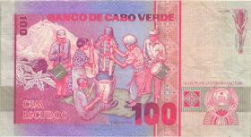 Kap Verde / Cape Verde P.57 100 Escudos 1989 (3)