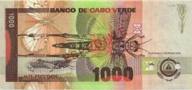 Kap Verde / Cape Verde P.65s 1000 Escudos 1992 Specimen (1)
