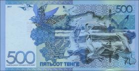 Kasachstan / Kazakhstan P.neu 500 Tenge 2017 (1)