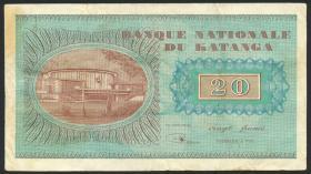 Katanga P.06a 20 Francs 1960 (3)