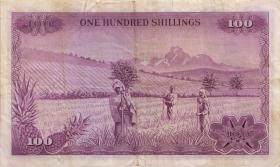 Kenia / Kenya P.10a 100 Shillings 1969 (3)
