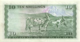 Kenia / Kenya P.12a 10 Shillings 1975 (1)