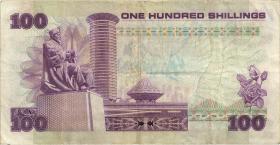 Kenia / Kenya P.23e 100 Shillings 1987 (3)