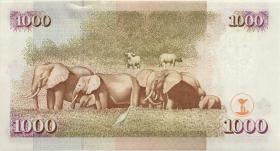 Kenia / Kenya P.40b 1000 Shillings 1999 (1)