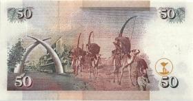 Kenia / Kenya P.36e 50 Shillings 2000 (1)