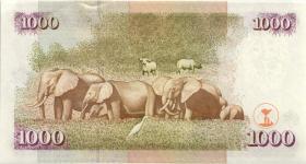 Kenia / Kenya P.40e 1000 Shillings 2002 (1)