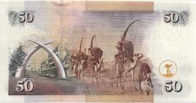 Kenia / Kenya P.41b 50 Shillings 2004 (1)
