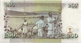 Kenia / Kenya P.49a 200 Shillings 2005 (1)